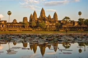 Angkor Wat mit Tempel des Erwachens