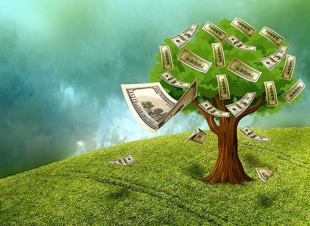 Geld-Baum